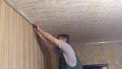 Подробности установки натяжных потолков своими руками